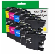 Compatible Pack 10 x Tinta BROTHER LC-121 XL / LC-123 XL