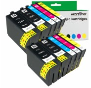 Compatible Pack 10 x Tinta EPSON T3471 / T3472 / T3473 / T3474 - 34XL