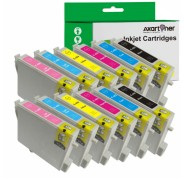 Compatible Pack 12 Tinta EPSON T0481/2/3/4/5/6
