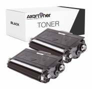 Compatible Pack 2 x Toner BROTHER TN3380 / TN3330 Negro