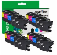 Compatible Pack 20 x Tinta BROTHER LC121 XL / LC123 XL V3