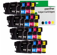 Compatible Pack 20 x Tinta BROTHER LC980 / LC1100 LC-980 / LC-1100