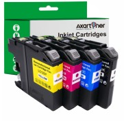 Compatible Pack 4 x Tinta BROTHER LC121 XL / LC123 XL V3
