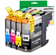 Compatible Pack 4 x Tinta BROTHER LC223 / LC221 V3