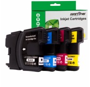 Compatible Pack 4 x Tinta BROTHER LC980XL / LC1100XL LC-980 / LC-1100