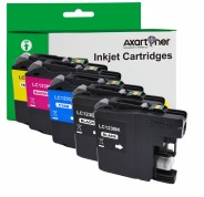 Compatible Pack 5 x Tinta BROTHER LC121 XL / LC123 XL V3