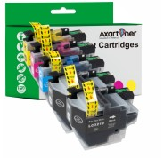 Compatible Pack 5 x Tinta BROTHER LC3219 XL / LC3217 XL V.3