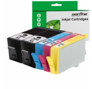 Compatible Pack 5 x Tinta HP 364XL