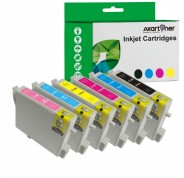 Compatible Pack 6 x Tinta EPSON T0481/2/3/4/5/6