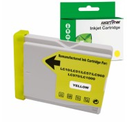 Compatible Tinta BROTHER LC1000XL / LC970XL Amarillo LC-1000Y / LC-970Y