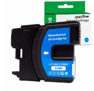 Compatible Tinta BROTHER LC980XL / LC1100XL Cyan LC-980 / LC-1100
