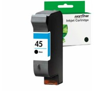 Compatible Tinta HP 45 Negro Remanufacturado 51645AE