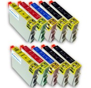 Compatible Pack 10 x Tinta EPSON T0441/2/3/4