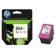 ORIGINAL HP 304XL TRICOLOR CARTUCHO DE TINTA N9K07AE